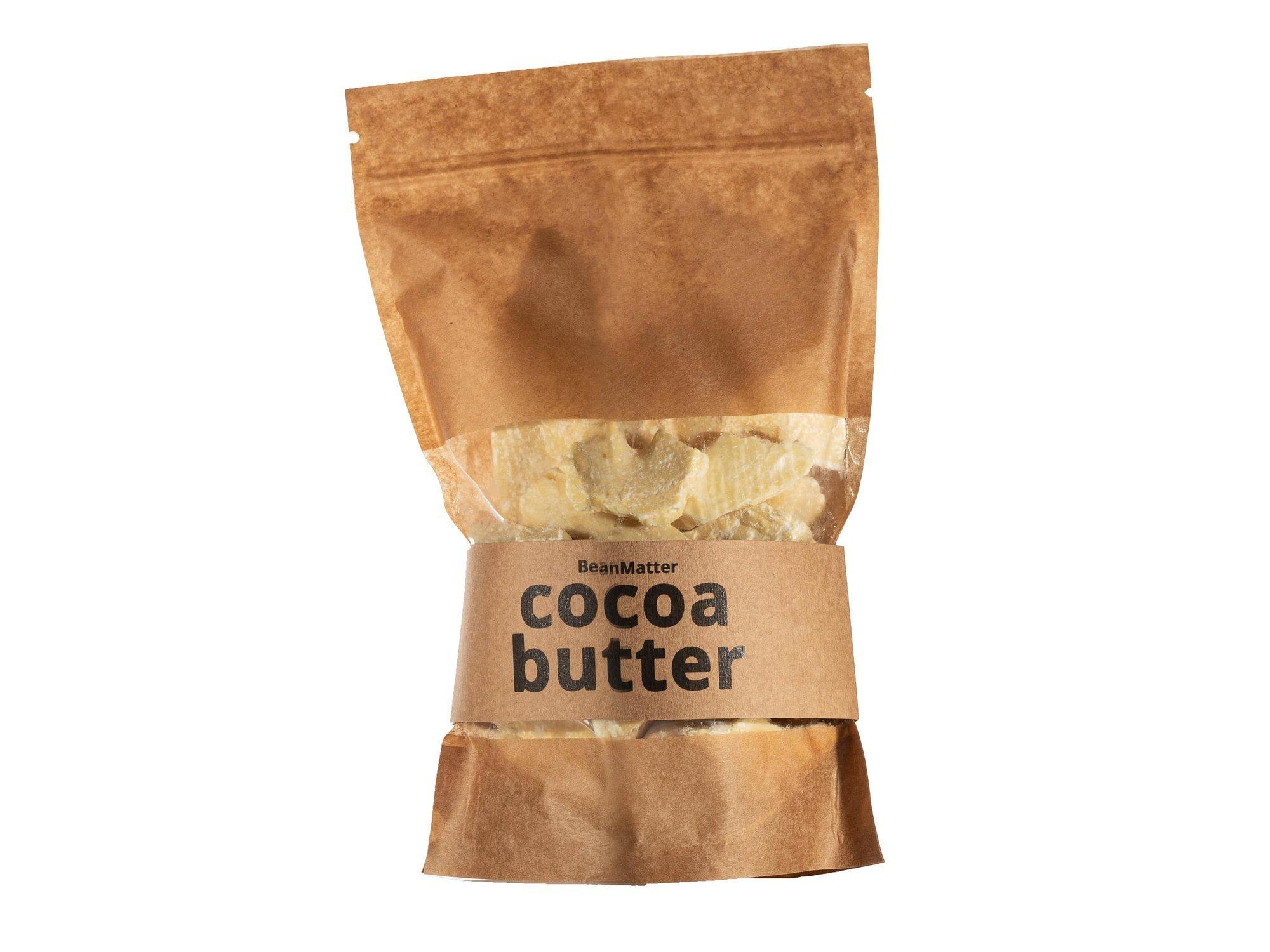 Kakaobutter - 500g - natürliche unraffinierte Ecuador Lebensmittelqualität