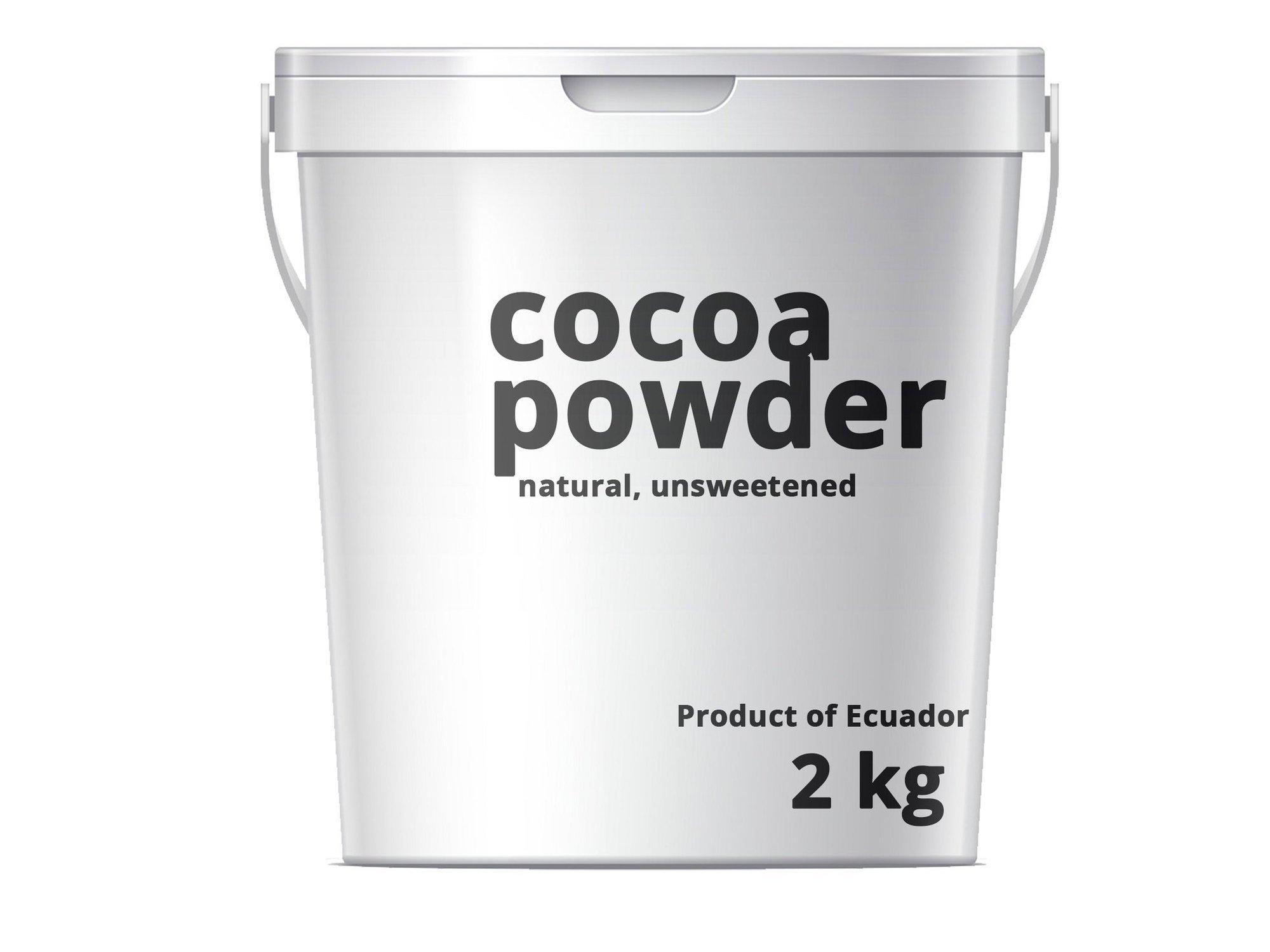 Kakao naturalne / Proszek kakaowy Naturalny 10-12% 2kg Ekwador